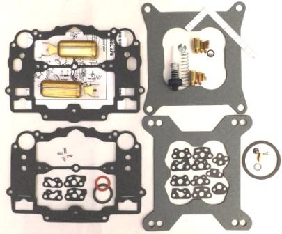 Edelbrock Carter AFB Carb Rebuild Kit 1400 1403 1404 1405 1406 1407 1409  1410 with Brass Floats
